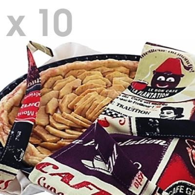Lot de 10 sacs à galette