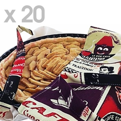 Lot de 20 sacs à galette