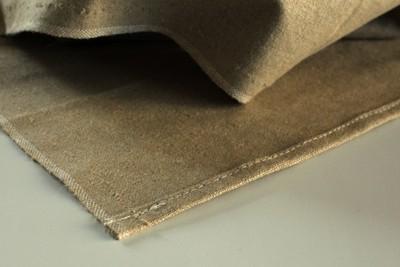Toile de couche en lin de densité 410g/m²